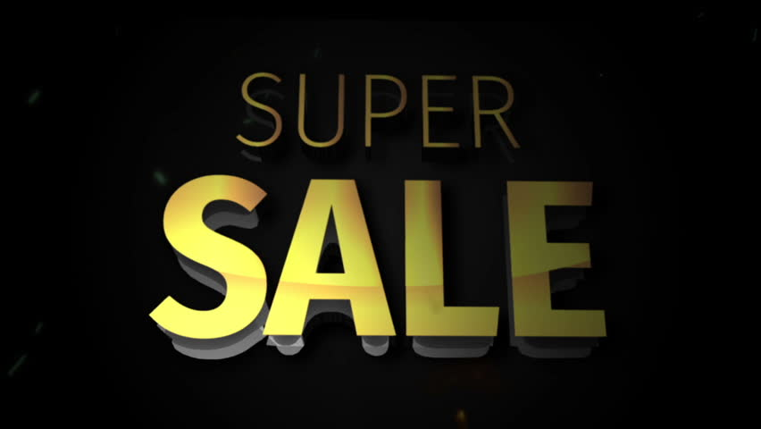 Super Sale Intro | Shutterstock HD Video #33022765
