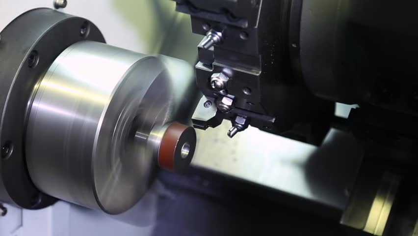 Manufacture of metal products with machine | Shutterstock HD Video #33102775
