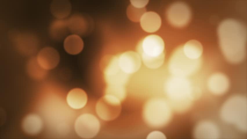 Orange Abstract Lights bokeh background loop  | Shutterstock HD Video #33160645