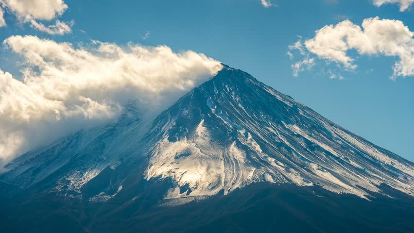 Timelapse of Fuji mountain, Japan. | Shutterstock HD Video #33218995