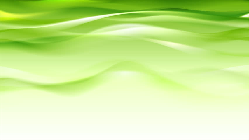 green iridescent flowing waves abstract motion background seamless loop video animation ultra hd 4k
