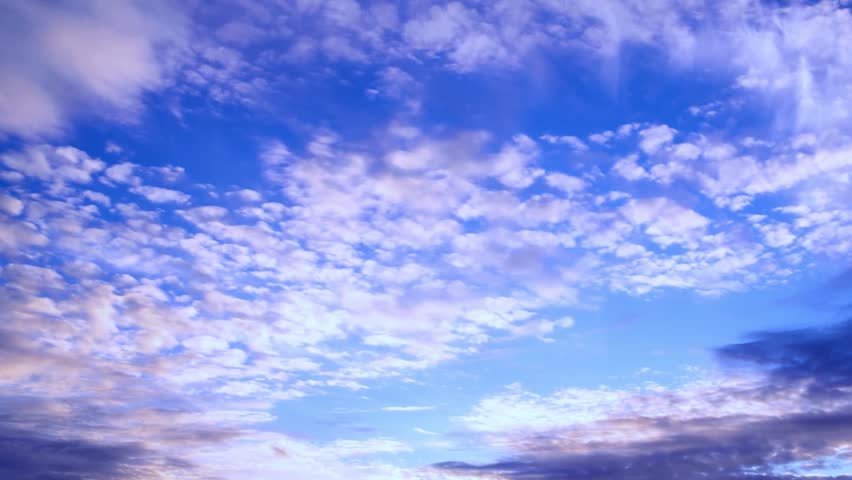 Timelapse rolling clouds, sky with clouds, timelapse with clouds moving, Time lapse clip of white fluffy cloud over blue sky, Seamless Loop Clouds, White Cloud & Blue Sky, Flight over cloud.