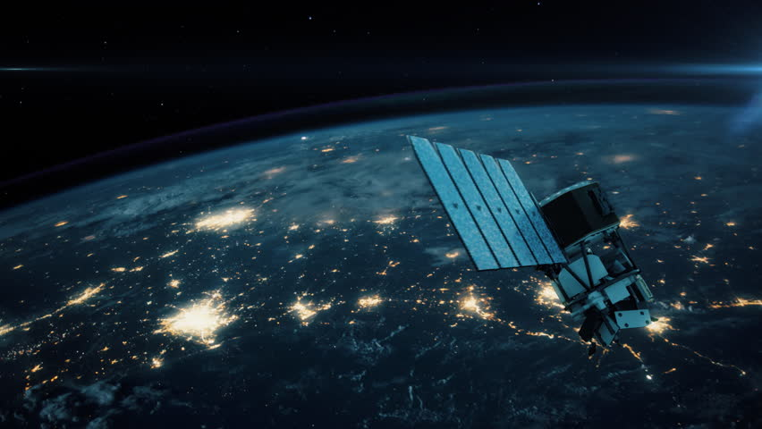 NASA ICON - The Ionospheric Connection Explorer. Highly realistic animation depicting the space agency's newest satellite launched in December 2017. 4K UHD. 16-bit color depth. Broadcast quality.      Shutterstock HD Video #33430051