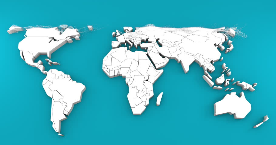 3d Birth of World Map. Stock Footage Video (100% Royalty-free) 33465055 on 2d world map, 8k world map, 16k world map, high resolution world map, ontario world map, red world map, 4d world map, alabama world map, 1080p world map,