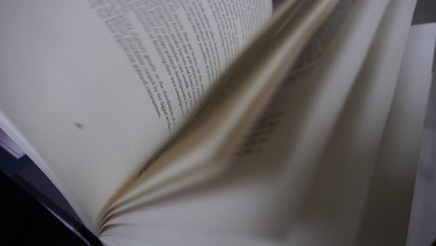 Reading book 4k  | Shutterstock HD Video #33549808