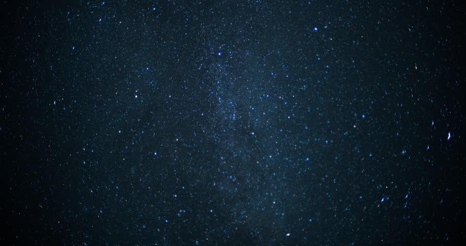 Twinkling stars on a clear starry night. | Shutterstock HD Video #33636355