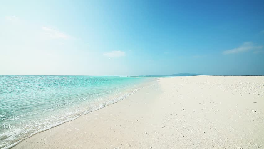 Hateno beach in Kumejima, Okinawa. | Shutterstock HD Video #3367835