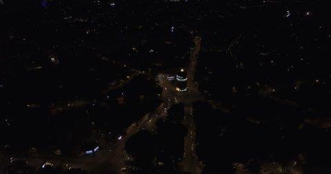 Foisorul de foc Tower Aerial View Bucharest City Romania Europe
