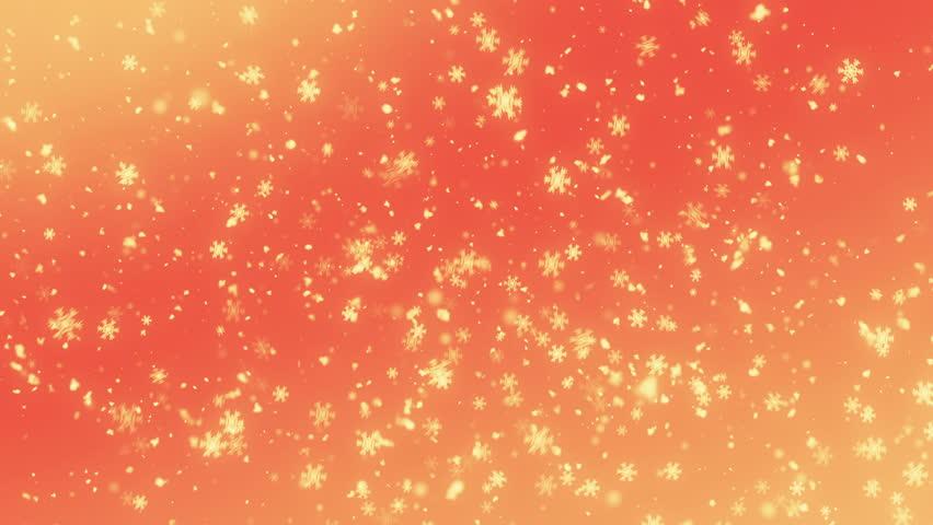 4K Falling Snowflakes loop | Shutterstock HD Video #33836485