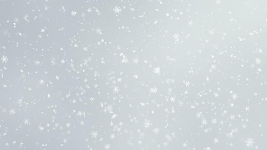 4K Falling Snowflakes loop   Shutterstock HD Video #33836512