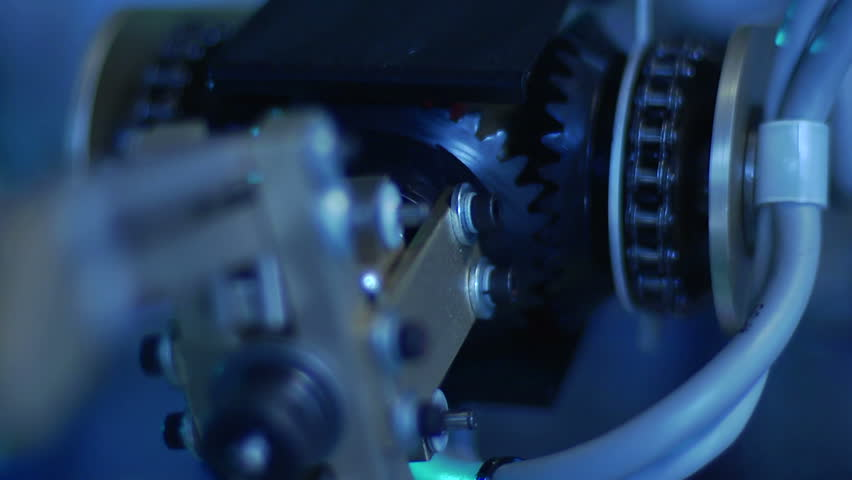 Robotic Arm & Gears - Speed Ramp