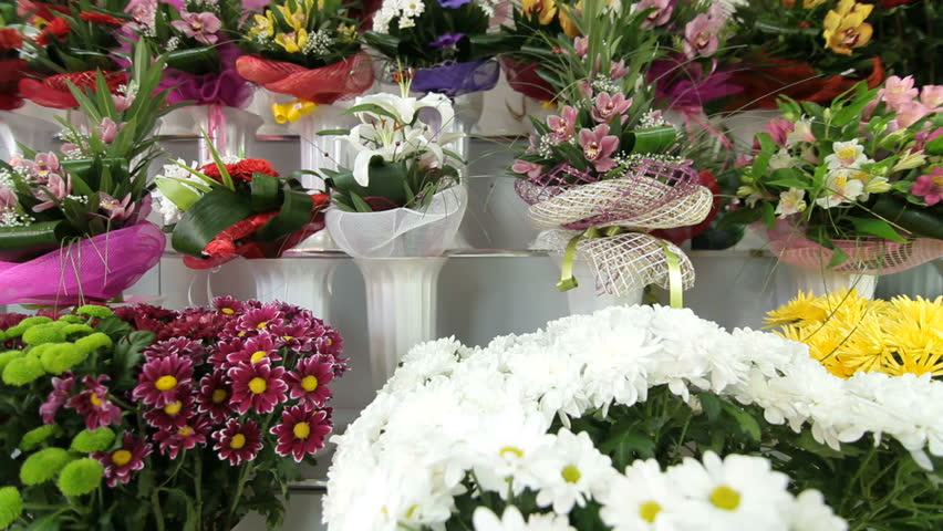 Large Variety Of Fresh Flower Stock Footage Video 100 Royalty Free 3401465 Shutterstock