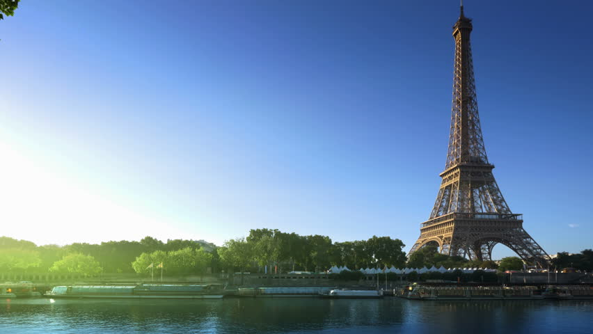 Eiffel tower, Paris. France | Shutterstock HD Video #34132285