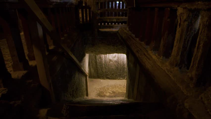 creepy basement stairs. Slow Motion Shot Of Creepy Basement Stairs. Ghost Story, Horror, Thriller Setup - Stairs