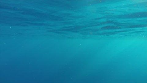 Bobbing Sun Rays Underwater