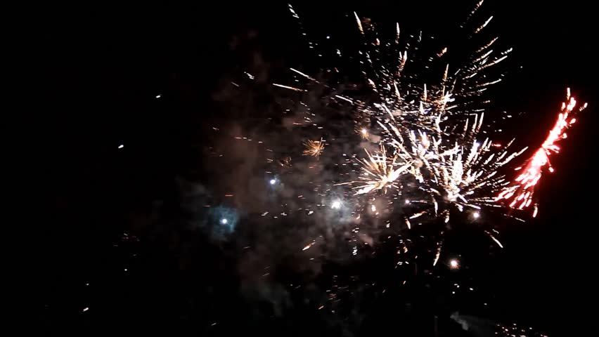 Fireworks with sound  | Shutterstock HD Video #34178065