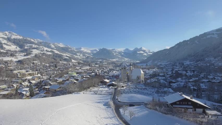 Kitzbuehel Austria Tirol in Winter - Skiing Destination Chalets #34186165