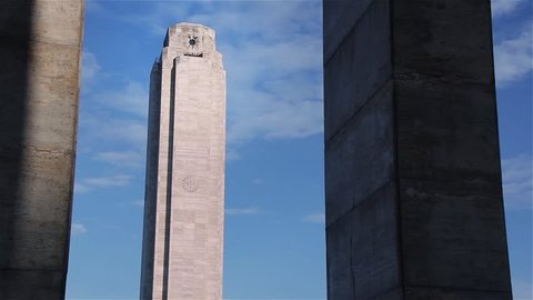 The National Flag Memorial in Rosario, Argentina.