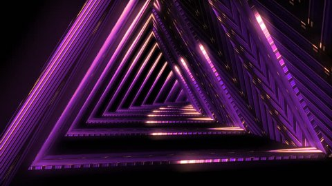 Looped seamless light tunnel for event, concert, presentation, music videos, party, vj, led screens and more.