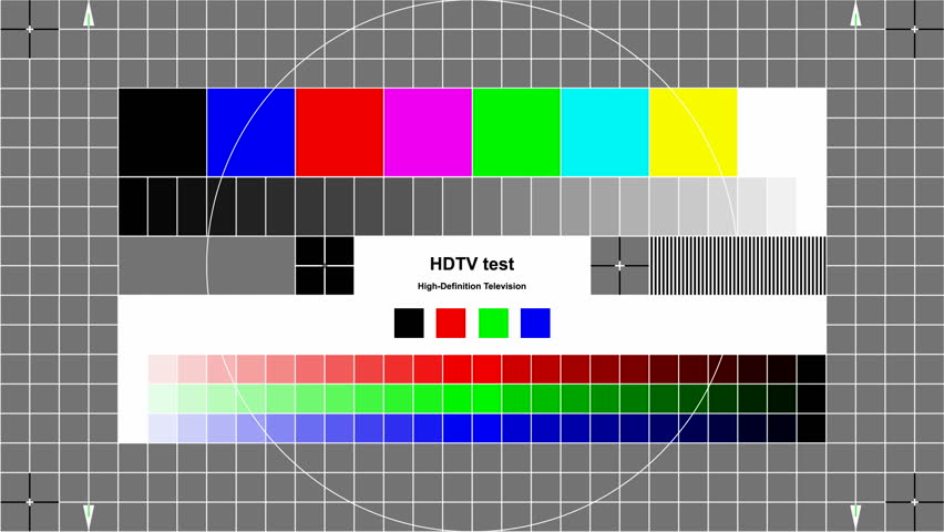 Tv Test Pattern High Resolution