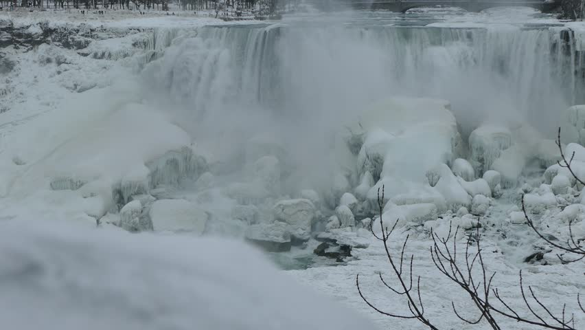 Niagara Falls Frozen And Ice Stock Footage Video 100 Royalty Free 34718245 Shutterstock