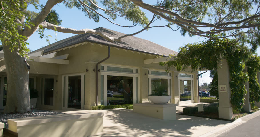Pro shop at beautiful golf clubhouse in melbourne australia at the 2018 master of the
