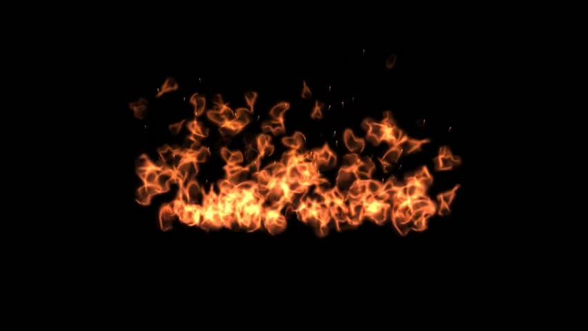 Fire Flame Video Effect On Stock Footage Video 100 Royalty Free 3478715 Shutterstock