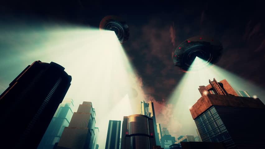 UFO Invasion Scanning in Metropolis