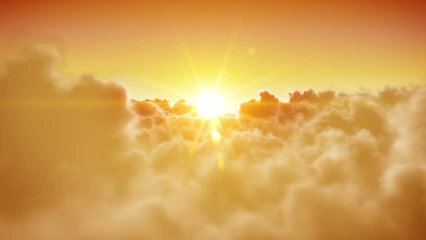 Heaven doors opening. Beautiful Sun and clouds are loopable. HD 1080. | Shutterstock HD Video #3483563