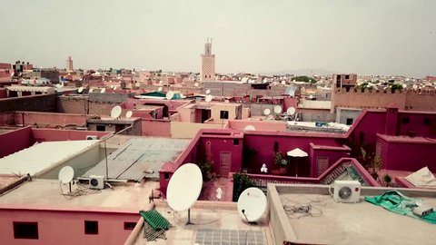 Drone footage of Marrakech, Morocco. Morocco drone over old Medina. Marrakech Medina drone footage. flying up. Marrakech video. Morocco video. Marrakech old Medina video drone footage