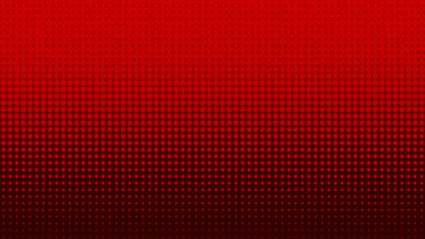 Red Background Loop abstract design