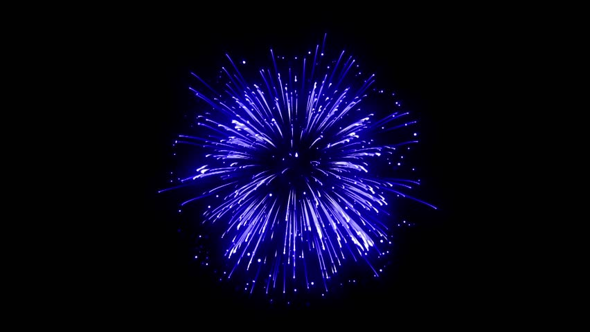 Super Firework Blue, Holliday, Celebration, New Year, The 4th of July, Christmas, Festival | Shutterstock HD Video #34982935