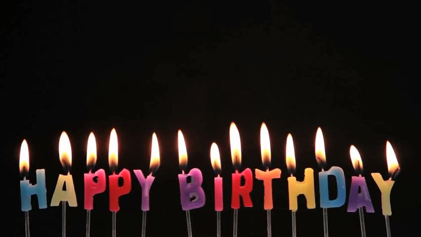 Happy Birthday Candles Being Extinguished Stockvideos Filmmaterial 100 Lizenzfrei 3502415
