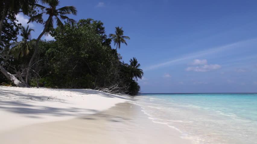 Maldives 5 - beach | Shutterstock HD Video #350245