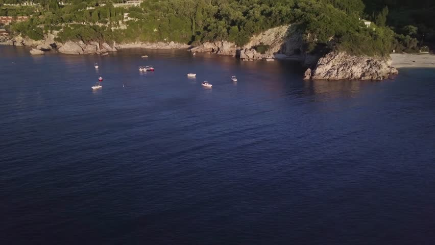 Coast line of the drones | Shutterstock HD Video #35024695