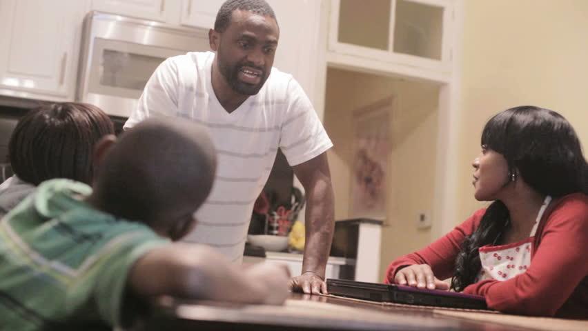 Image result for black family talking