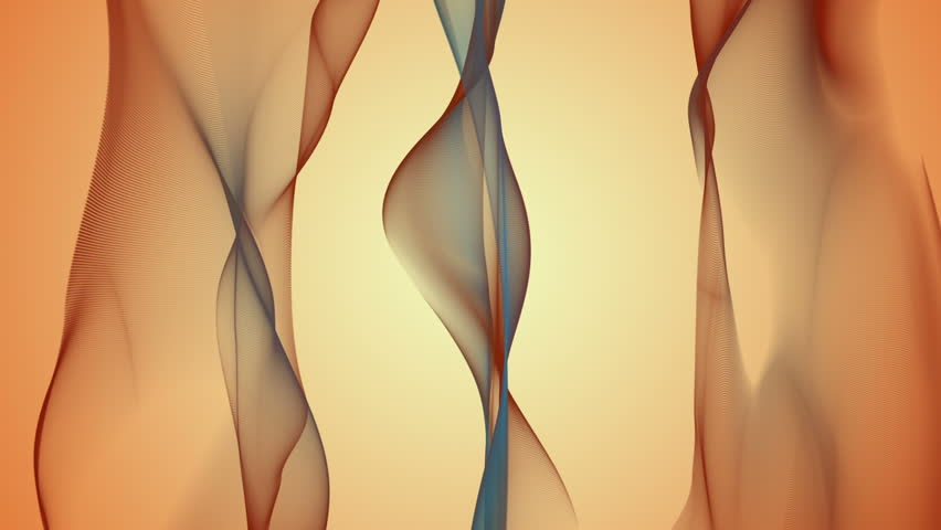 Wonderful video animation with moving wave object, loop HD 1080p   Shutterstock HD Video #3592133