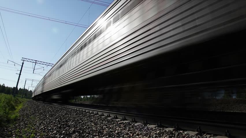 Passenger Train, Trans-Siberian Railway