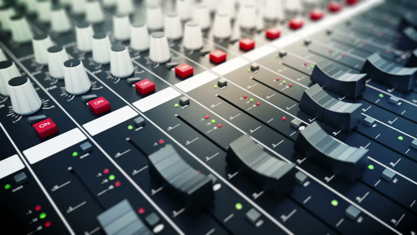 Mixing Console also Called Audio Stock Footage Video (100% Royalty-free)  3634115 | Shutterstock