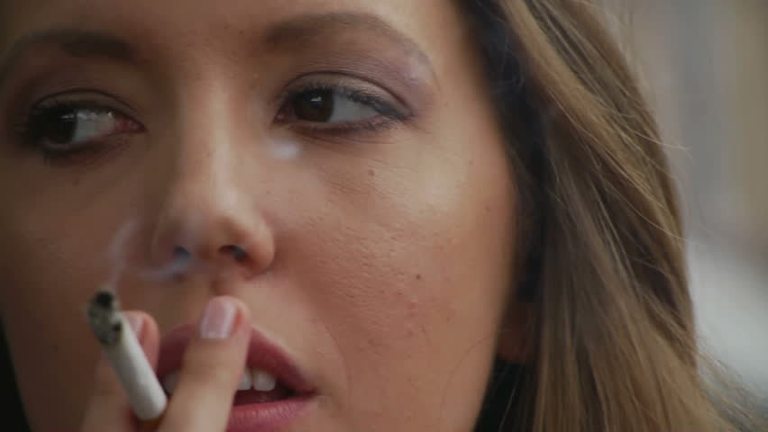 Sexy smoking women videos