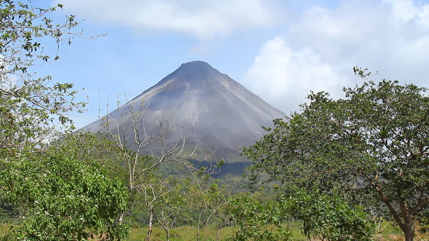 Arenal Volcano 2. The Arenal Volcano, an active volcano in Costa Rica.