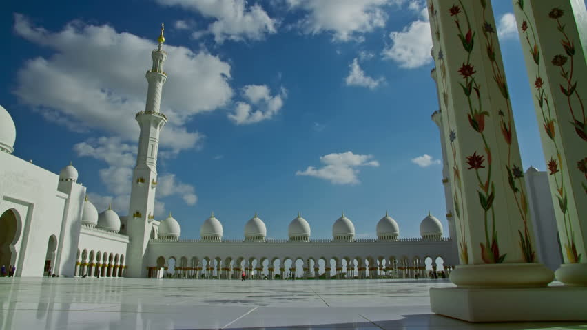 Sheikh Zayed Grand Mosque Time-lapse