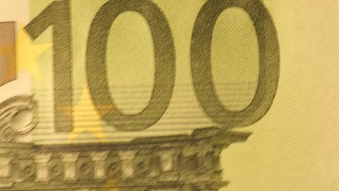 one hundred euro banknote / one hundred euro