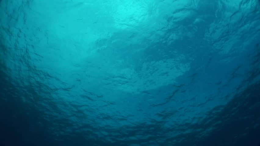 Ocean surface from 60 feet in Pacific waters