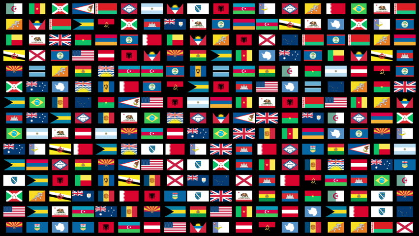 Flags of the World animation