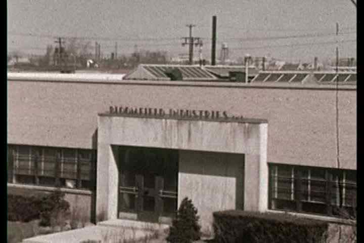 1960s - Beatrice Foods new accusation Bloomfield Industries plant in Chicago is toured and we see metal stamping machinery forming cookware.
