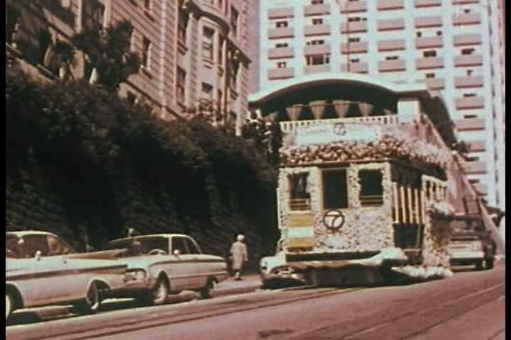 1960s - Some of the neighborhoods and people of San Francisco are seen including Chinatown and Little Italy.