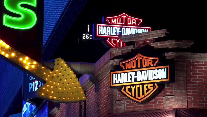 Harley Davidson Motor Company Stock Video Footage 4k And Hd Video