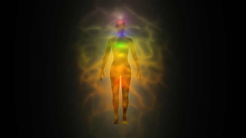 Aura - human energy body, chakras