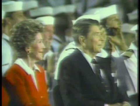 1980s - A film tribute to Ronald Reagan shown at the 1988 Republican National Convention.
